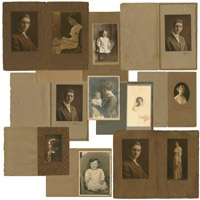portraits (group of 12 works) by edward weston