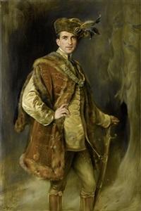 porträt markgraf pallavicini by joszi arpad koppay