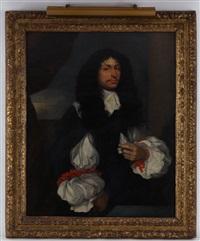 portrait d'un gentilhomme by sébastien bourdon
