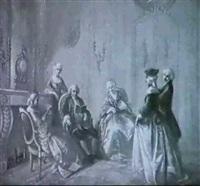 rokoko-interieur by charlotte de senezcourt