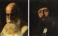 portrait of a gentleman by luigi fabron