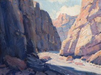 painted canyon by joe duncan gleason