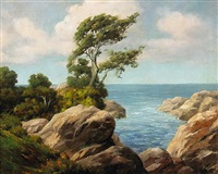 cypress point, pebble beach by william bradley