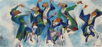 hasidic dance by william gropper