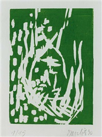 sportler by georg baselitz