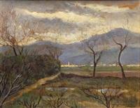 paesaggio by giovanni zannacchini