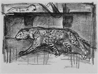 panther im käfig by otto münch