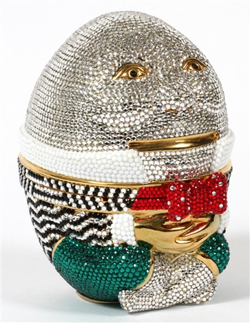 humpty dumpty minaudiere by judith leiber