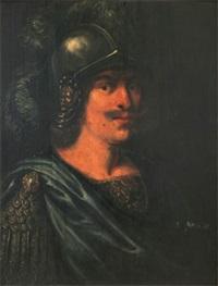 man i romersk rustning by karel van mander iii