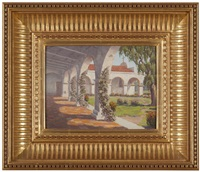 san juan capistrano mission by charles westly nicholson
