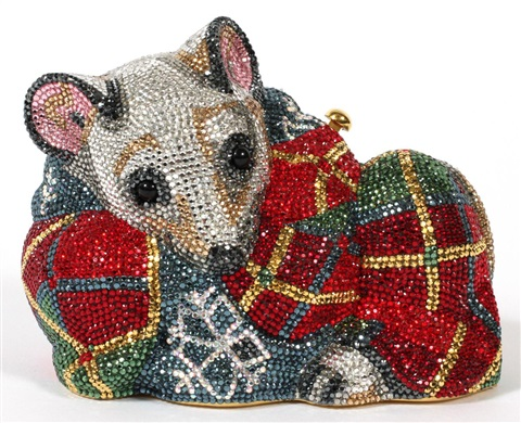 mouse minaudiere by judith leiber