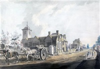 highgate and the road to kentish town by james miller