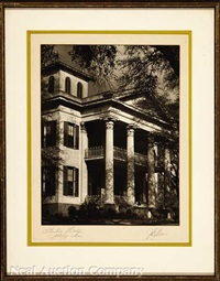 dunleith, natchez, ms; rienzi, 1796; houmas house, burnside, la. and stanton hall, natchez, ms (4 works) by j. e. miller