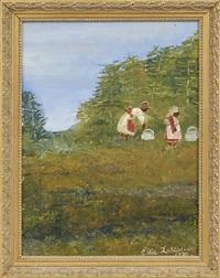 picking cotton by ella tolliver
