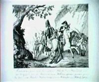 friedrich der zweyte nach der verlohrenen schlacht bey   kunersdorf, wird... by peter (christian jonas) haas