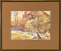 acadian autumn by charles oglesby longabaugh