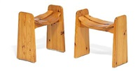 stools (pair) by carl malmsten