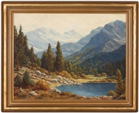 high sierras lake by r.p. smith
