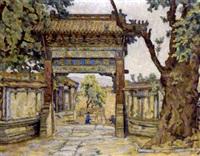 chinesischer torbogen by mary augusta mullikin