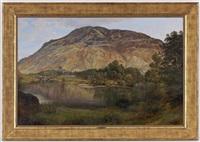 lac de montagne by george vicat cole
