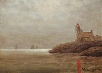 coastal nocturne by elbridge wesley webber