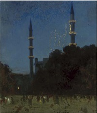 minaret's by night by sydney adamson