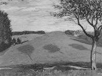 sommerliche landschaft by franz nölken