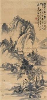 山水 (landscape) by liu tangsheng