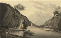 lago maggiore on the road from geneva to lyon, italy by john claude nattes
