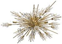 fifteen light metropolitan chandelier by hans harald rath