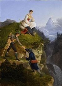 früher alpinismus by friedrich philip reinhold