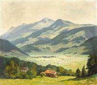 seenhütten im allgäu by werner vogel