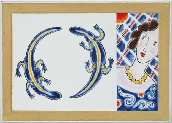 hommage à matisse et salamandres by braco dimitrijevic