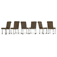 dining chairs (set of 6) by harvey probber