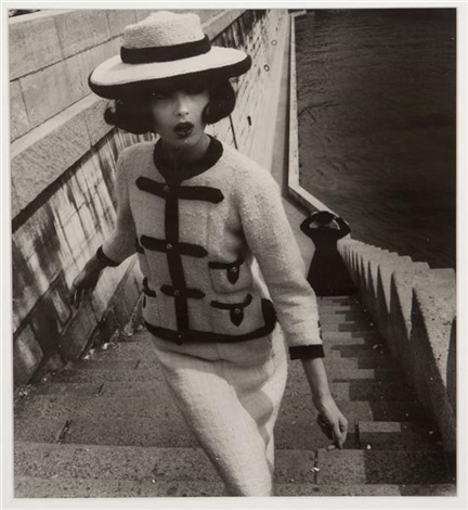 chanel model by william klein