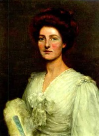 portrait of mrs. anderson by alfred ward