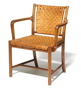 very rare cuban mahogany armchair by mogens koch