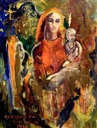 mother and child by marcelle dulac