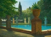 loghetto azzuro i villa d'este by wilhelm pacht