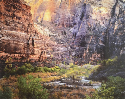 twilight virgin river and zion canyon utah by christopher burkett