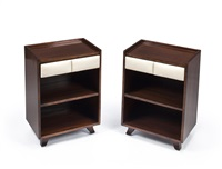 nightstands (model 4140) (pair) by gilbert rohde