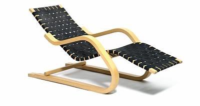 Chaise Longue Model Ch 23 By Alvar Aalto