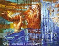 baal tekiyah (jewish shofar founder) by david anderson