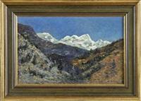 gebirgslandschaft by hermann von le suire