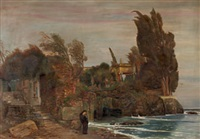 villa am see (after arnold böcklin) by elias adzitiris