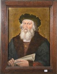 portrait de gutenberg by adolf alexander dillens