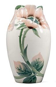 art nouveau vase by karl & waldemar lindström