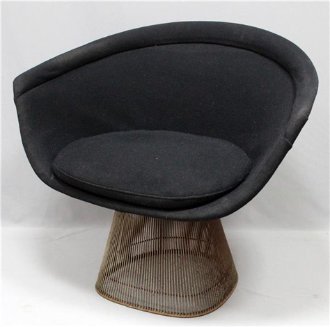 Loungesessel  Lounge-Sessel Model No. 1725 a by Warren Platner on artnet