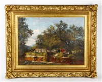 landscape with figures by william stanley haseltine