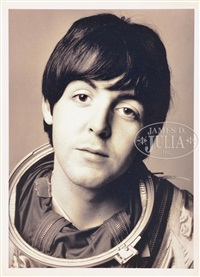 lennon & mccartney (2 works) by richard avedon